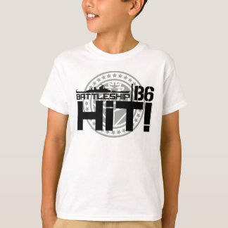 Battleship B6 Hit 2 T-Shirt