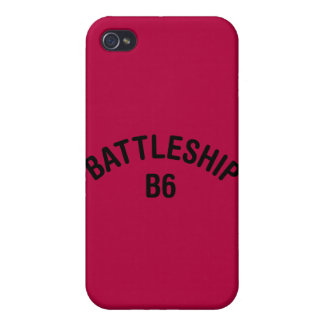 Battleship B6 Logo Covers For iPhone 4