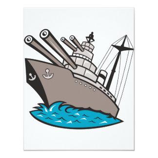 Battleship Invitations