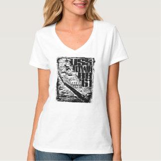 Battleship Iowa Women's Hanes Nano V-Neck T-Shirt