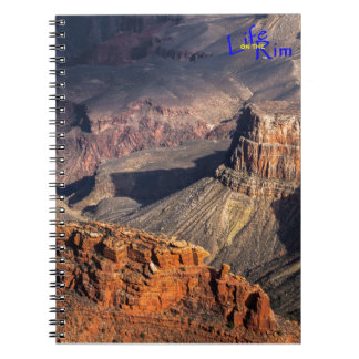"""Battleship Rock"" Grand Canyon Spiral Notebook"
