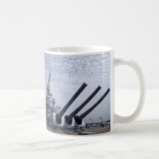 Battleship USS Alabama Basic White Mug