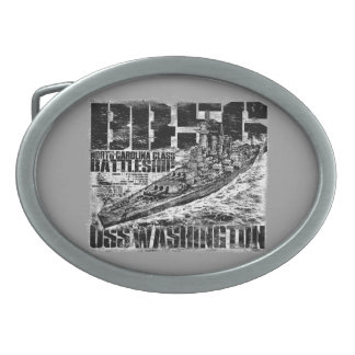 Battleship Washington Belt Buckle