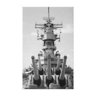 Battleship Wisconsin Canvas Print