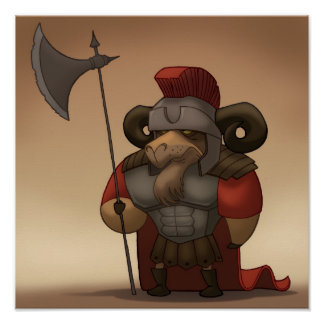 Battling Ram Poster