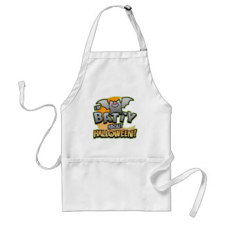 Batty About Halloween BBQ Apron