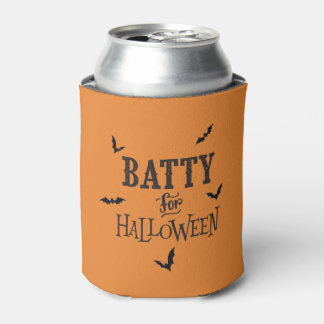 Batty For Halloween Can Cooler