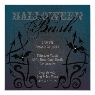 Batty Halloween Invitations