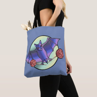 Batty Lollipops Tote Bag