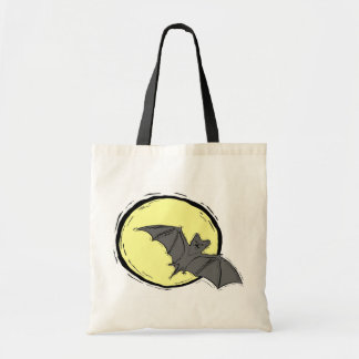 Batty Moon - Budget Tote Budget Tote Bag