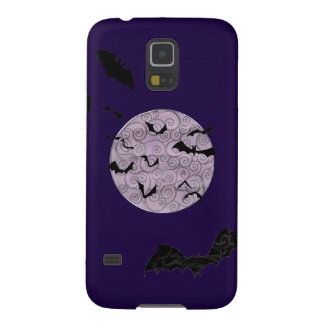 Batty Moon - Samsung Galaxy S5, Barely There Case