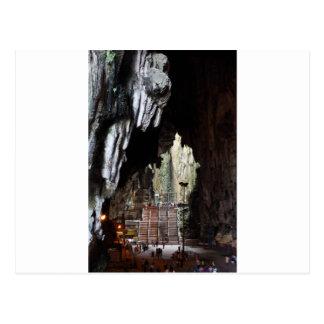 Batu Caves temple Malaysia Postcard