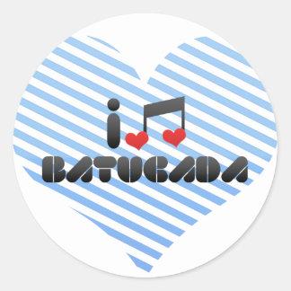Batucada fan sticker