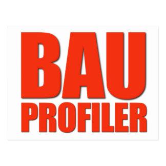 BAU Profiler Postcard