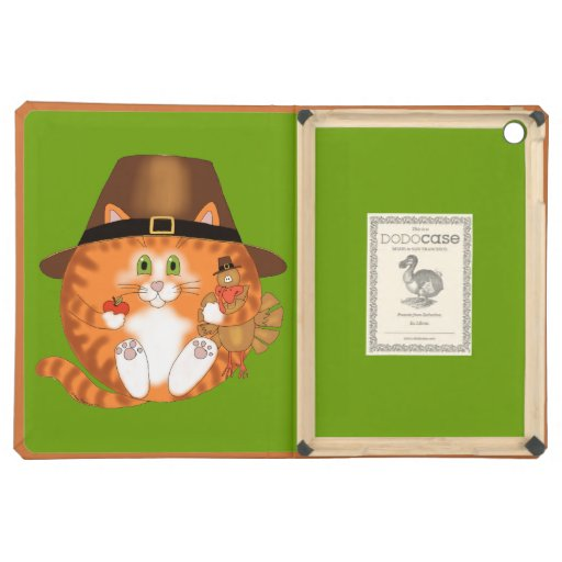 Bauble Cat Thanksgiving Case For iPad Air