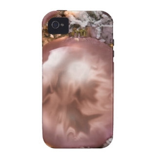 bauble, soft pink Case-Mate iPhone 4 case