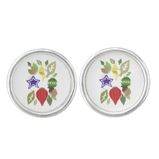 Bauble Wreath Cufflinks