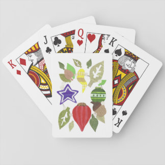 Bauble Wreath Playing Cards