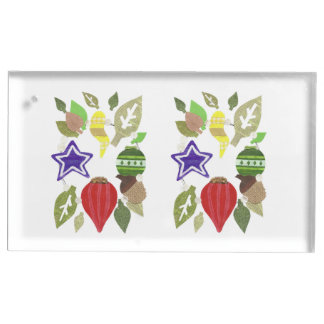 Bauble Wreath Table Card Holder
