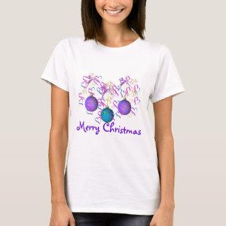 Baubles Bows and Hearts T-Shirt