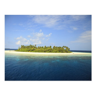 Baughagello Island, South Huvadhoo Atoll, 3 Postcard