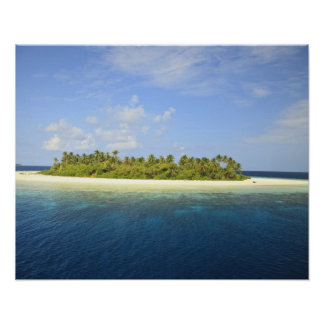 Baughagello Island, South Huvadhoo Atoll, 3 Poster