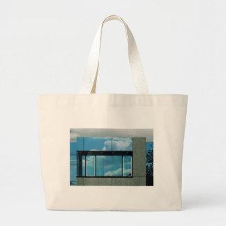 Bauhaus Blue Tote Bags