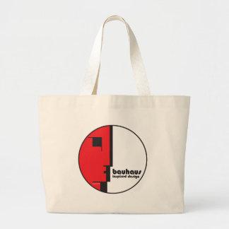 "BAUHAUS Classic Circle ""Lineface"" Profile Icon Jumbo Tote Bag"