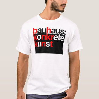 Bauhaus collection black t-shirt