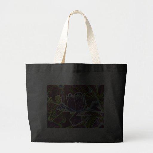 Bauhaus Floral Canvas Bags