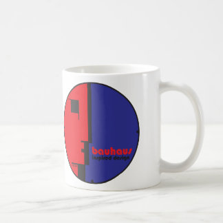 BAUHAUS Inspired Design Classic Circle ICON Mug