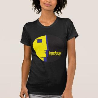 BAUHAUS Inspired Design-DarkClassic LineFace Icon T-shirt