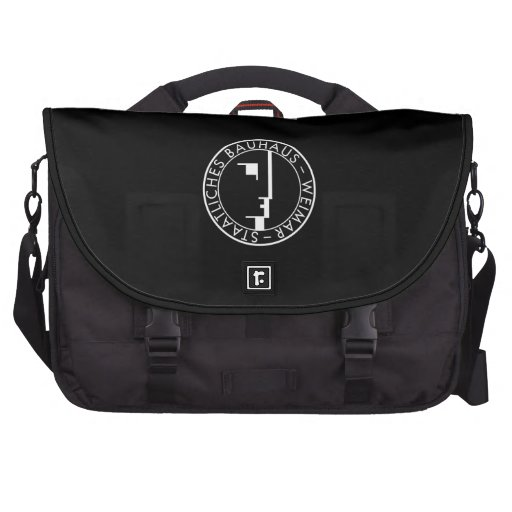 Bauhaus Logo commuter bag