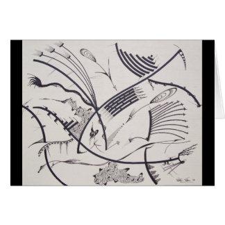 """""""Bauhaus One"""" card by Viktor Tilson"""