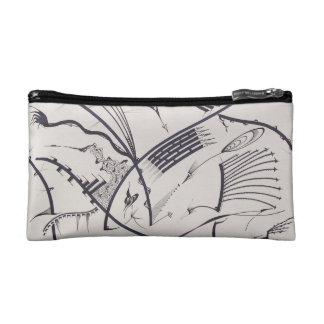 """Bauhaus One"" design by Viktor Tilson Makeup Bag"