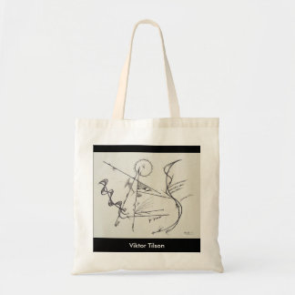 """Bauhaus Two"" Design by Viktor Tilson Budget Tote Bag"