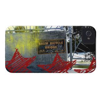 Baum Bicycle Bridge Sign iPhone 4 Cases