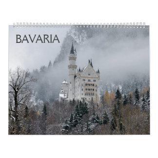 Bavaria 2018 Wall Calendar