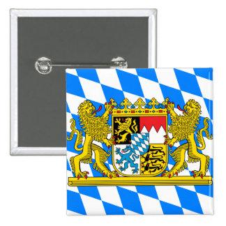 Bavaria Coat of arms 15 Cm Square Badge