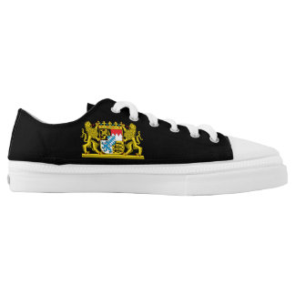 Bavaria Coat of Arms Low Tops