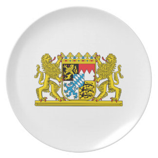 Bavaria Coat of arms Plate