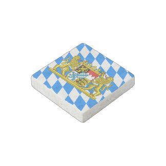 Bavaria Coat of arms Stone Magnet