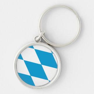 Bavaria Flag Bavarian Flag Key Ring