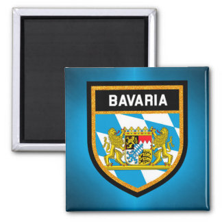 Bavaria Flag Magnet