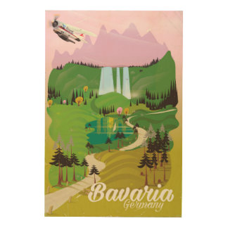 Bavaria Germany landscape travel print