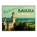Bavaria Germany Neuschwanstein Castle Postcard