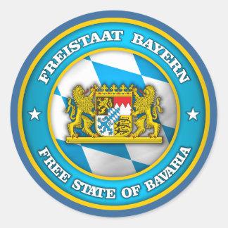 Bavaria Medallion Classic Round Sticker