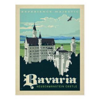 Bavaria, Neuschwanstein Castle Postcard
