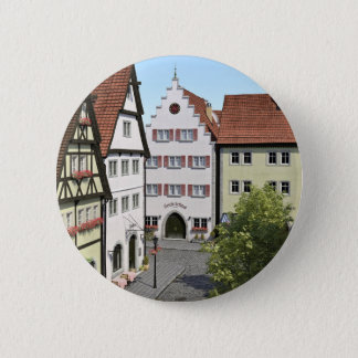 Bavaria Town From Above 6 Cm Round Badge