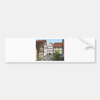 Bavaria Town From Above Bumper Sticker